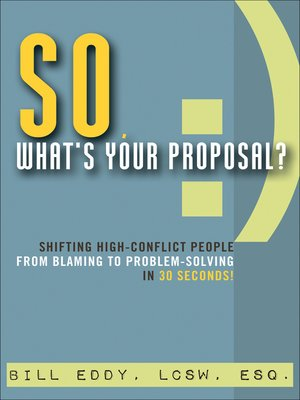 cover image of So, What's Your Proposal?