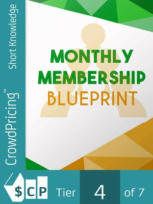 cover image of Monthly Membership Blueprint