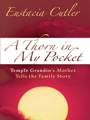 cover image of A Thorn in My Pocket