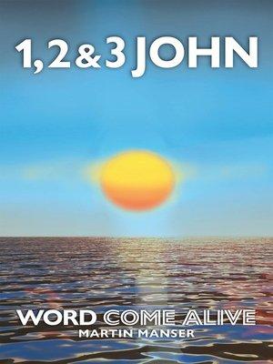 cover image of 1, 2 & 3 John