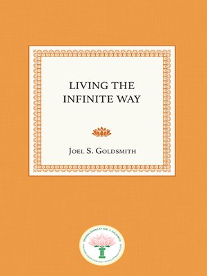 cover image of Living the Infinite Way