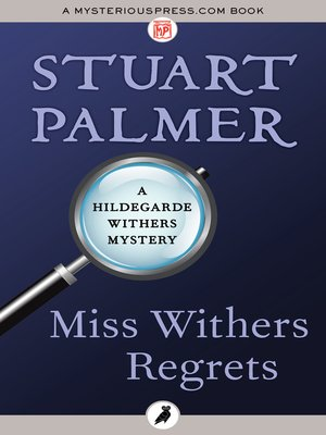 cover image of Miss Withers Regrets