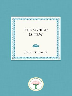 cover image of The World Is New
