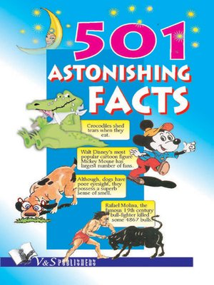 cover image of 501 Astonishing Facts