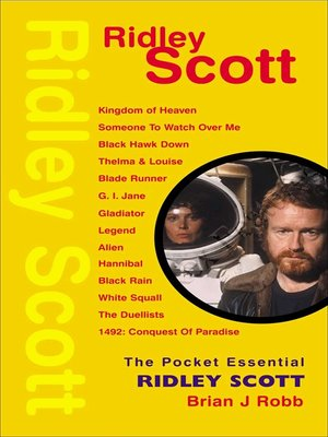 cover image of The Pocket Essential Ridley Scott