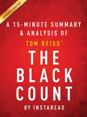 cover image of The Black Count by Tom Reiss / a 15-minute Summary & Analysis