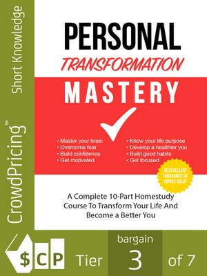 cover image of Personal Transformation Mastery