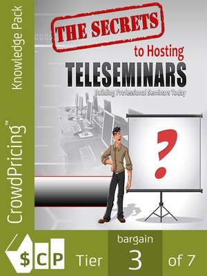 cover image of The Secrets to Hosting Successful Teleseminars