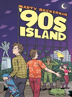 cover image of '90s Island