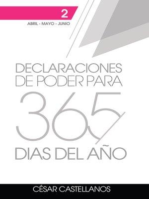 cover image of Declaraciones de Poder Para 365 Días del Año