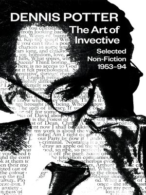 cover image of The Art of Invective