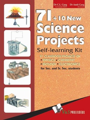 cover image of 71 + 10 New Science Projects