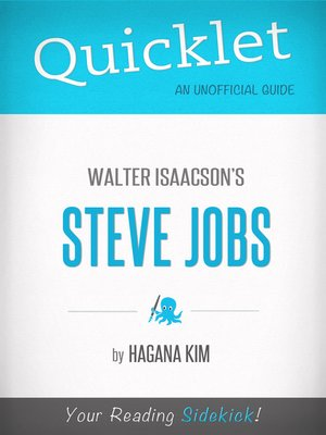 cover image of Quicklet on Steve Jobs by Walter Isaacson