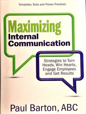 cover image of Maximizing Internal Communication