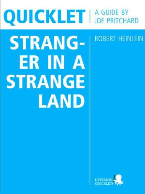 cover image of Quicklet on Robert Heinlein's Stranger in a Strange Land