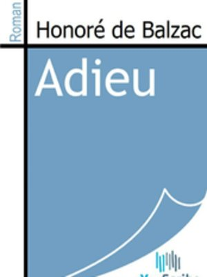 cover image of Adieu