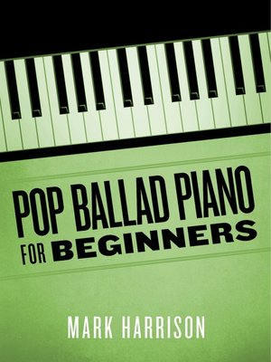 cover image of Pop Ballad Piano for Beginners