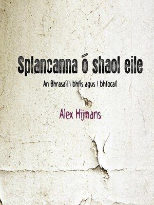 cover image of Splancanna ó Shaol Éile