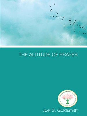 cover image of The Altitude of Prayer