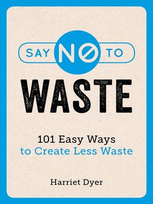 cover image of Say No to Waste