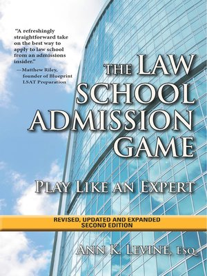 cover image of The Law School Admission Game