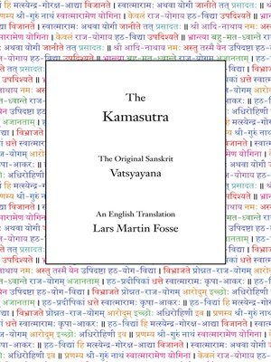 cover image of The Kamasutra (Translated)