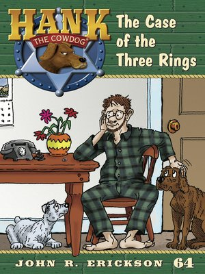 cover image of The Case of the Three Rings