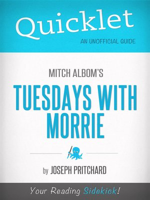 cover image of Quicklet on Mitch Albom's Tuesdays with Morrie