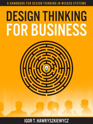 cover image of Design Thinking for Business