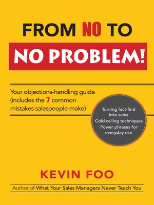 cover image of From No to No Problem!