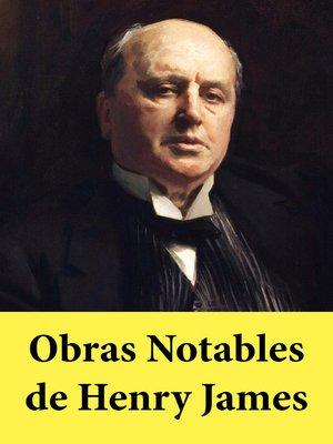 cover image of Obras Notables de Henry James