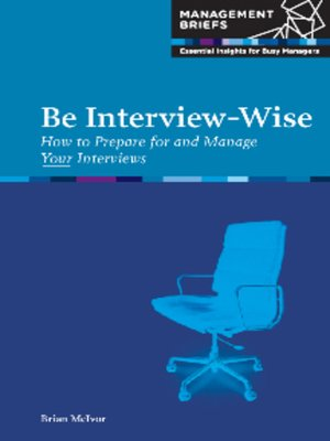 cover image of Be Interview-Wise