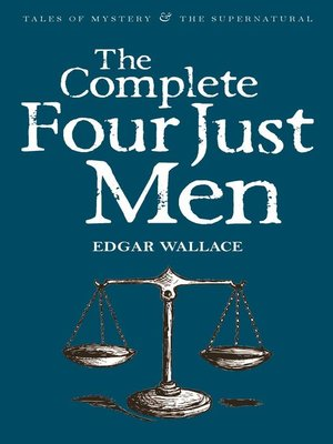 cover image of The Complete Four Just Men