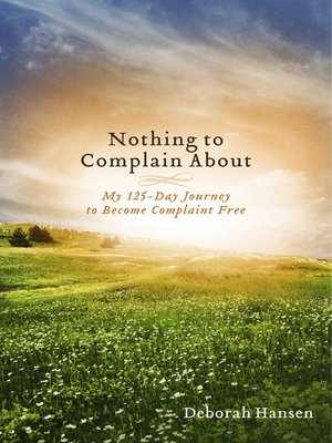 cover image of Nothing to Complain About