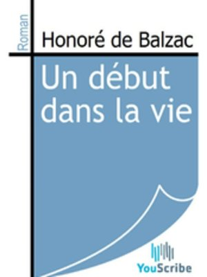 cover image of Un début dans la vie