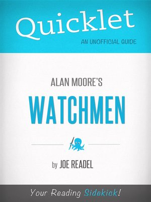 cover image of Quicklet on Watchmen by Alan Moore