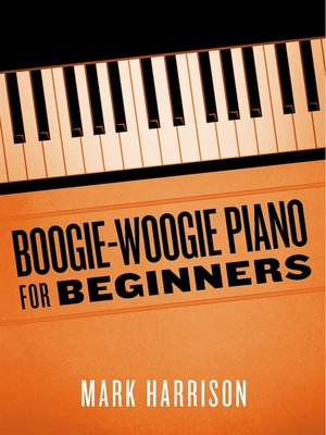 cover image of Boogie-Woogie Piano for Beginners