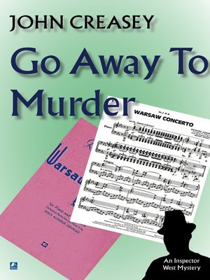 cover image of Go Away to Murder