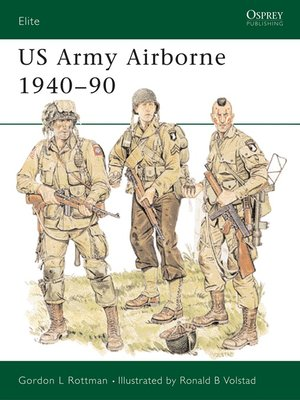 cover image of US Army Airborne 1940-90