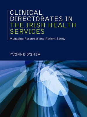 cover image of Clinical Directorates in the Irish Health Service