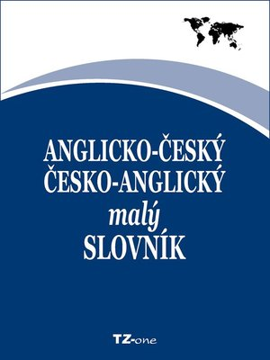 cover image of Anglicko-český/ česko-anglický malý slovník