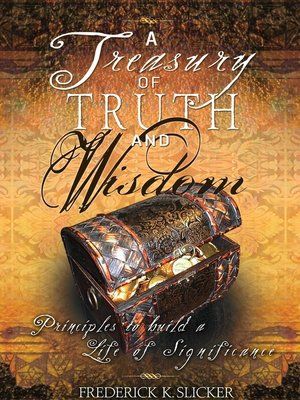 cover image of A Treasury of Truth and Wisdom