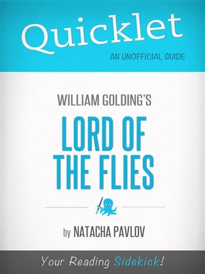 cover image of Quicklet on Lord of the Flies by William Golding