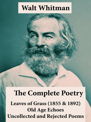 cover image of The Complete Poetry of Walt Whitman
