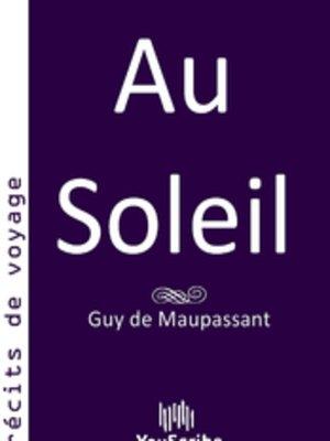 cover image of Au Soleil