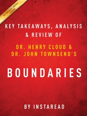 cover image of Boundaries