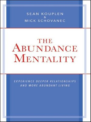 cover image of The Abundance Mentality