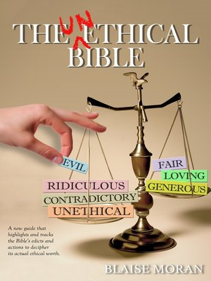 cover image of The Unethical Bible