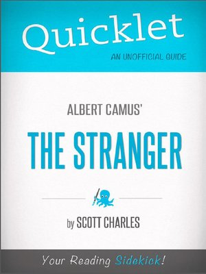 cover image of Quicklet on Albert Camus' the Stranger