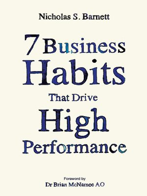 cover image of 7 Business Habits That Drive High Performance